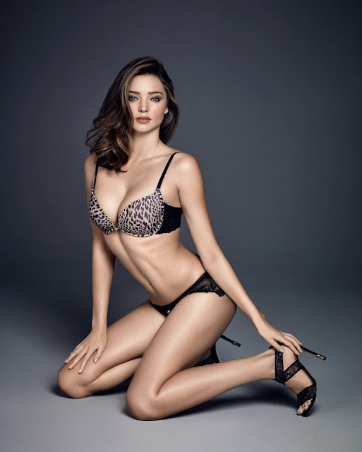 Miranda Kerr bares curves for Wonderbra Fall/Winter Latest Campaign