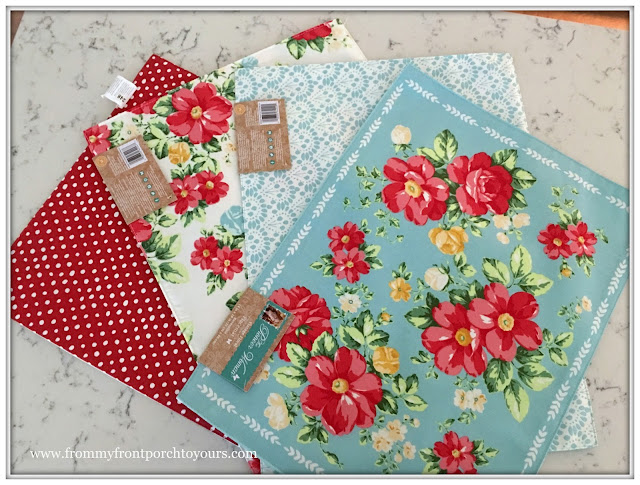 Pioneer Woman Placemats-From My Front Porch To Yours