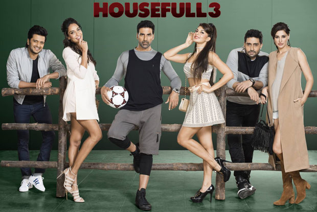 Akshay Kumar, Abhishek Bachchan,  Riteish Deshmukh,  Jacqueline Fernandez,  Nargis Fakhri, Lisa Haydon Housefull 3 Movie Box Office wiki, forth higest Biggest Film of 2016 in bollywood, budget, Box Office, Collectons