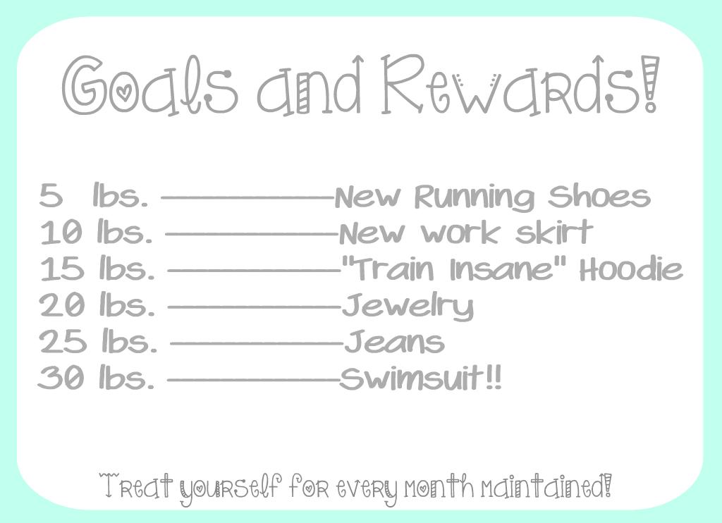 Goals and Rewards A Little Bit of Fitness OCD