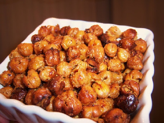 these are italian roasted chickpeas