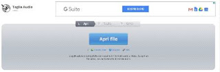 tagliare un file audio gratis e online