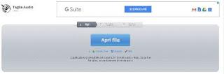 tagliare un file audio gratis e online