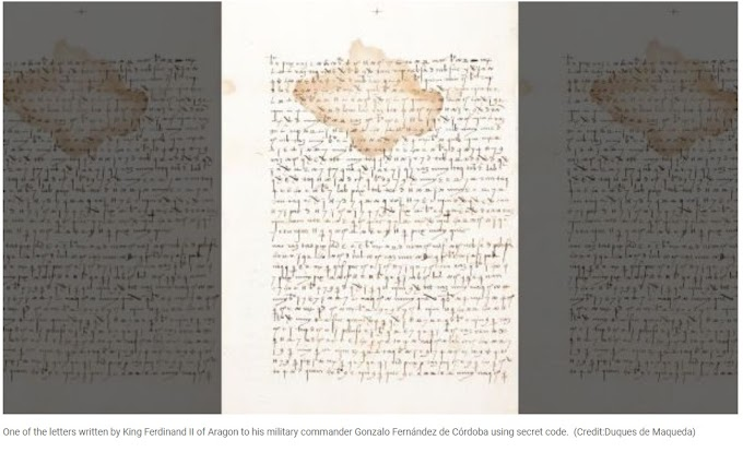 500-Year-Old Military Letters of King Ferdinand II