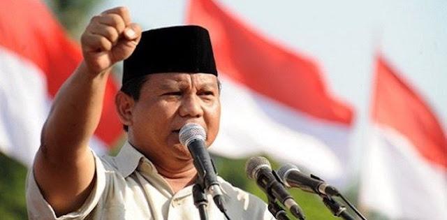 Elektabilitas Prabowo Subianto Dan Upaya Mencari Cawapres