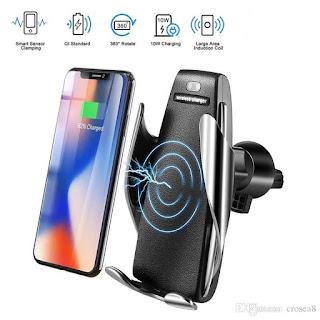 caricatore per auto wireless morsetto s5 automatico