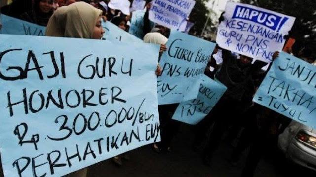 Koordinator Honorer K2: Presiden Jokowi Sangat Berbeda, Menyapa Saja Tidak