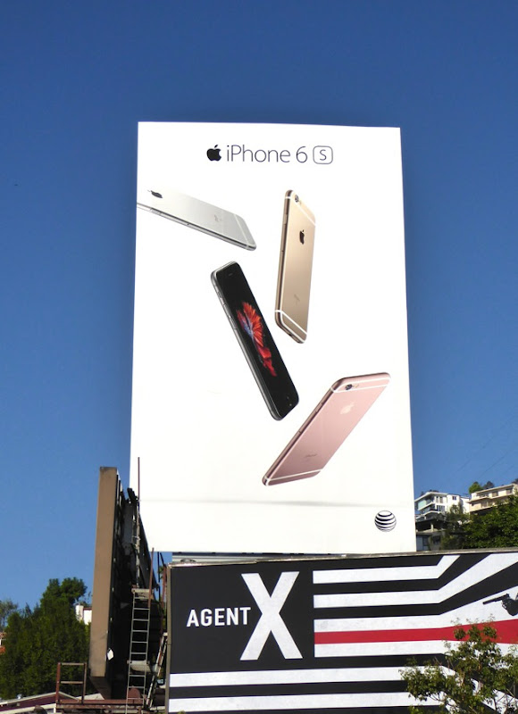 Apple iPhone 6s launch billboard