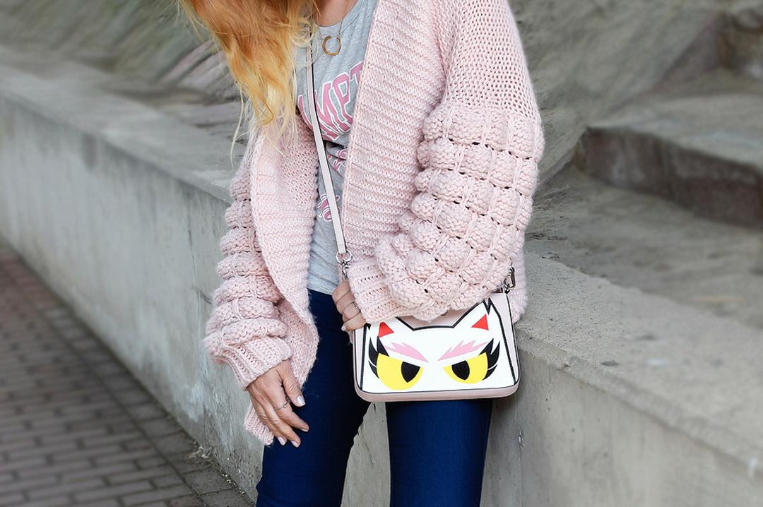 Rosa Handtasche karl Lagerfeld, Choupette, Mode Inspiration