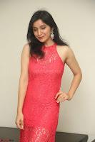 Sakshi Kakkar in Red Legsplit Sleeveless Gown at Dare movie Press meet ~  Exclusive 017.JPG