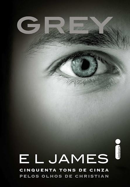 Grey Cinquenta tons de cinza pelos olhos de Christian E. L. James