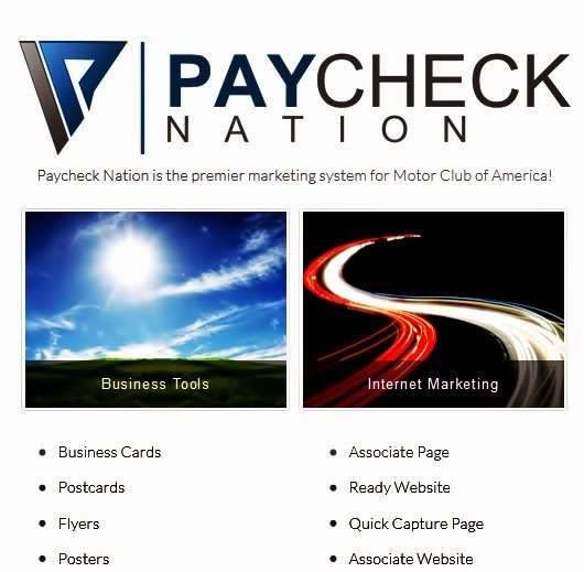 motor club of America marketing materials
