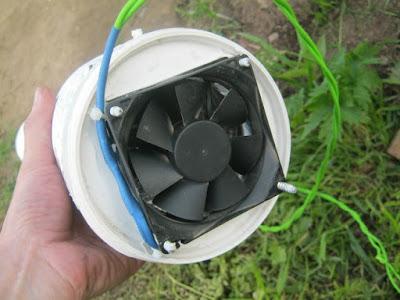 приборный вентилятор