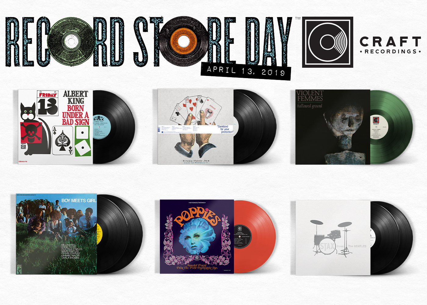 JP's Music Blog: New Record Store Day Releases Arriving From Craft