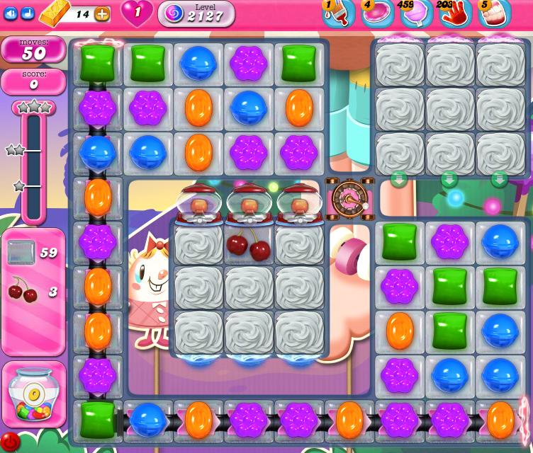 Candy Crush Saga level 2127