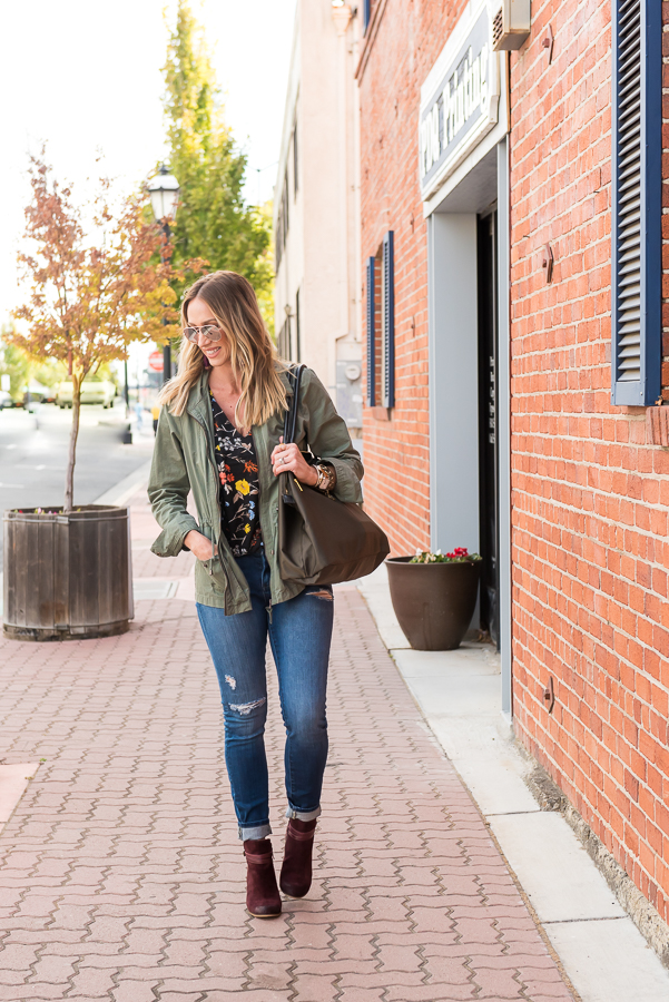 parlor girl fall outfit style