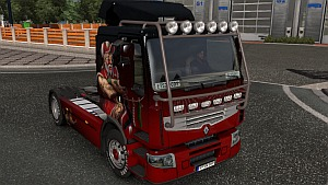 Safety frame mod for Renault Premium
