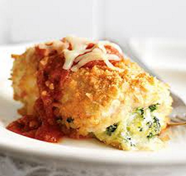 Chicken Parmesan Bundles , weight watchers recipes , 5 Smart Points