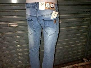 Celana Jeans Pria Biru