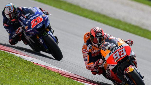 Hukuman Marquez di MotoGP Amerika
