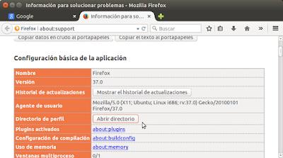 Configuración básica de la aplicación