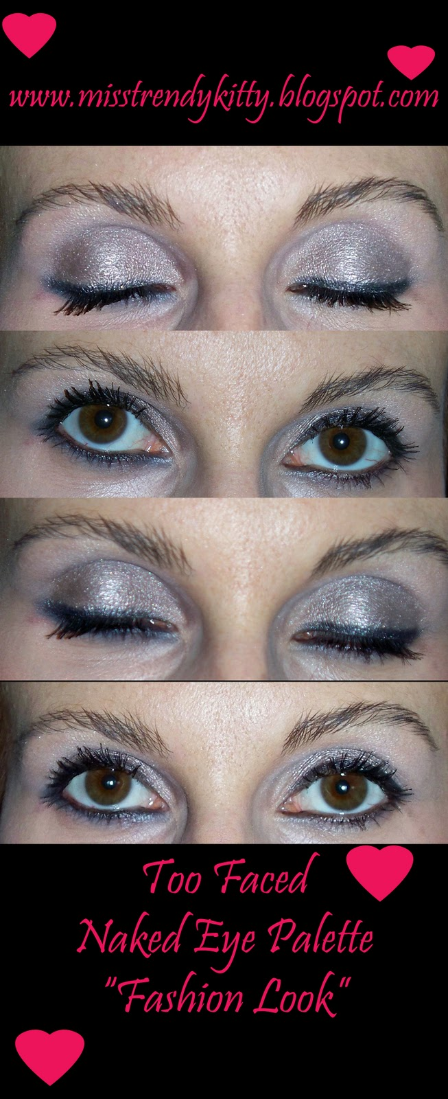 Naked Eyes Neutral Eyeshadow Guide: Trench Collection By Sonia Verardo: Too Faced Naked Eye