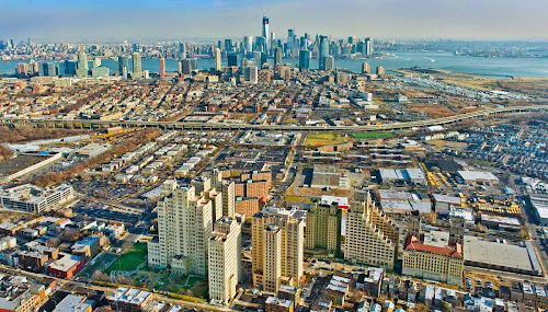 jersey city aerial