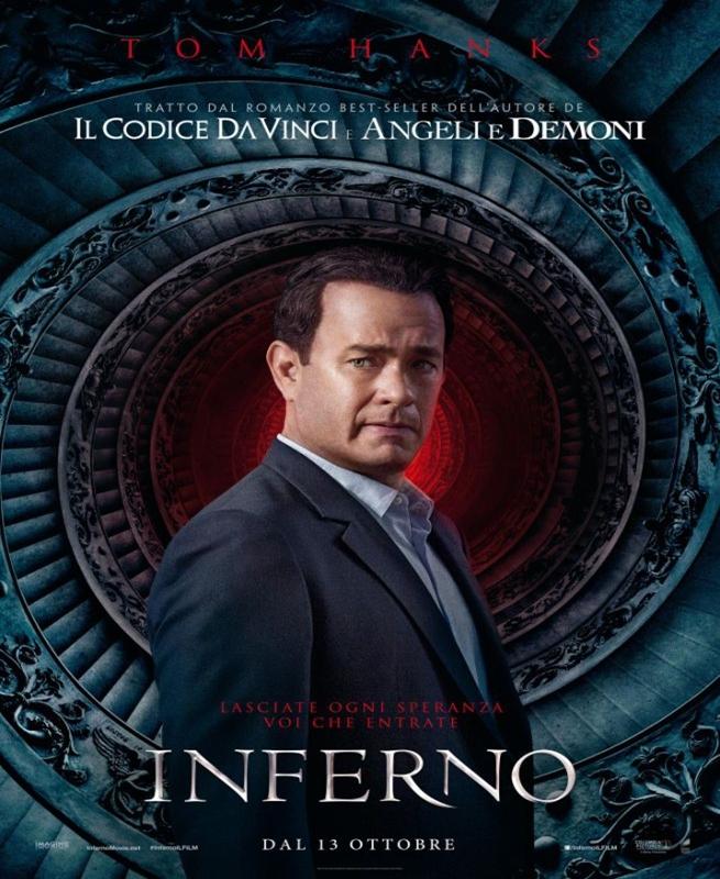 L'Inferno di Ron Howard ad ottobre nelle sale italiane