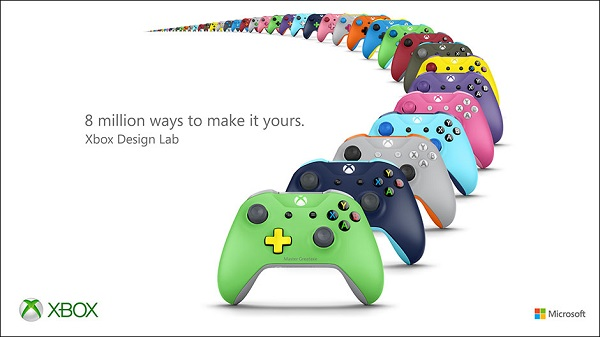 E3 2016: Microsoft announces Xbox Design Lab, personalize Xbox Wireless Controller with your name, Gamertag, or custom 16-character message