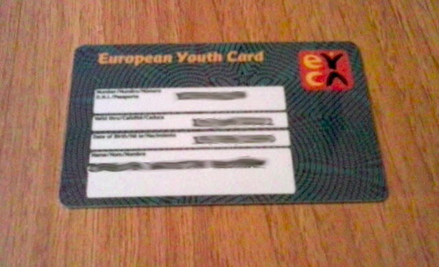 Carné Joven / European Youth Card from Spain