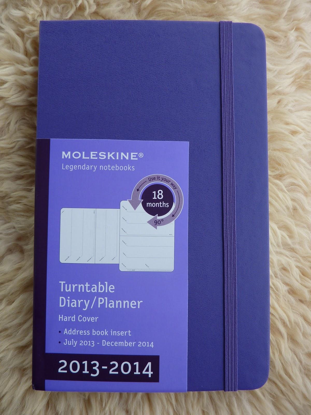 Moleskine Turntable 18 month planner