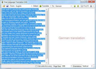 تحميل برنامج ترجمة النصوص والملفات بعدة لغات للكمبيوتر Free Language Translator برابط مباشر