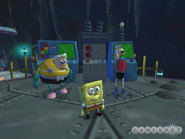 SpongeBob SquarePants Battle for Bikini Bottom PC Full Version Screenshot 1