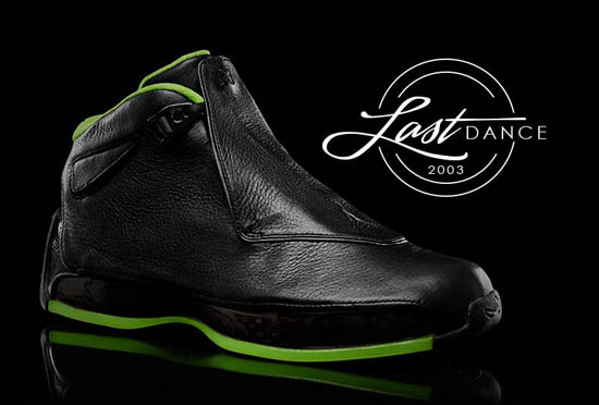 outlet store b446d 749ae Originally released in 2003, the Air Jordan XVIII was the last signature  shoe worn on the court by Michael Jordan during his final season playing  with the ...