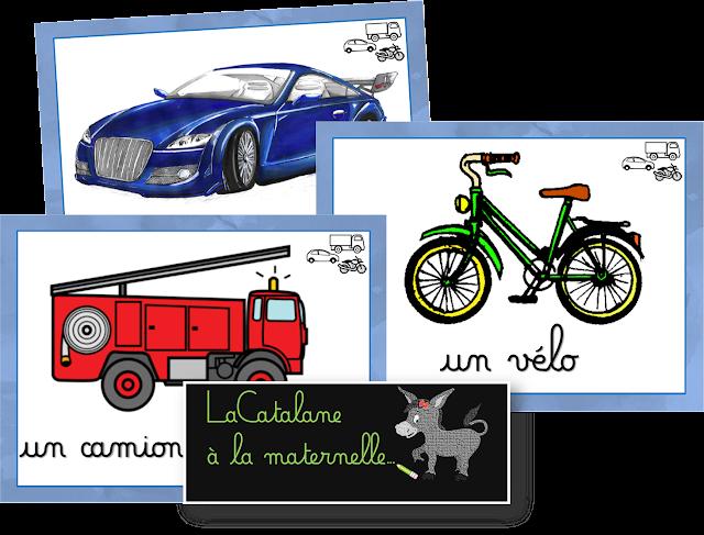 Sac au trésor - véhicules (LaCatalane)