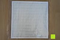 Filter auspacken: Beurer LR 300 Luftreiniger mit HEPA Filter für 99,5% Filterleistung, ideal bei Heuschnupfen und zur Allergievorbeugung