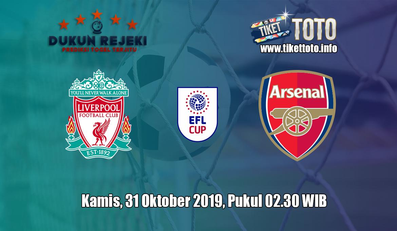 Prediksi EFL CUP Liverpool VS Arsenal 31 Oktober 2019