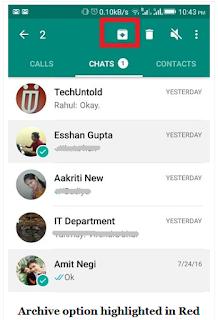 Cara menyembunyikan Chat di WhatsApp karena rahasia