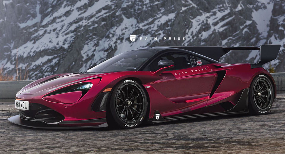 Mclaren Will Most Definitely Do A 720s Gt3, And It'll