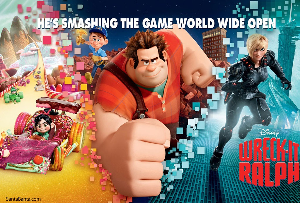 Download Wreck-It Ralph (2012) BluRay 720p Subtitle Indonesia
