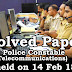 Kerala PSC - Solved Paper - Police Constable (Telecommunications) held on 14 Feb 18