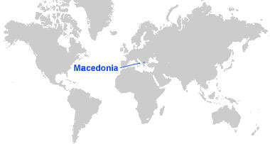 image: Republic of North Macedonia Map location