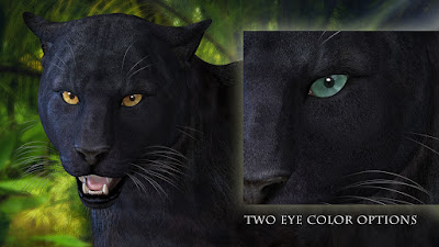 CWRW Black Panther for HW3D Big Cat