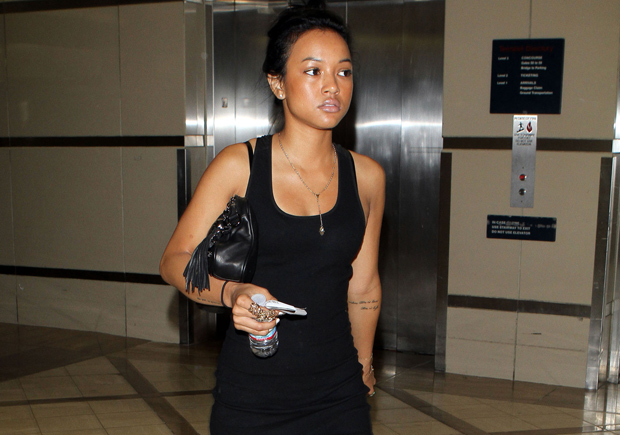 Exclusive Chris Browns Girlfriend Karrueche Tran Pregnant