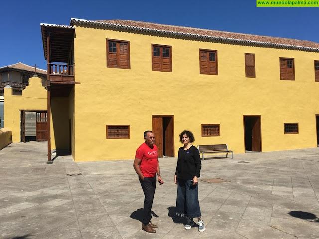 El Cabildo rehabilita la Casa Massieu de Tazacorte y trabaja en la accesibilidad del inmueble