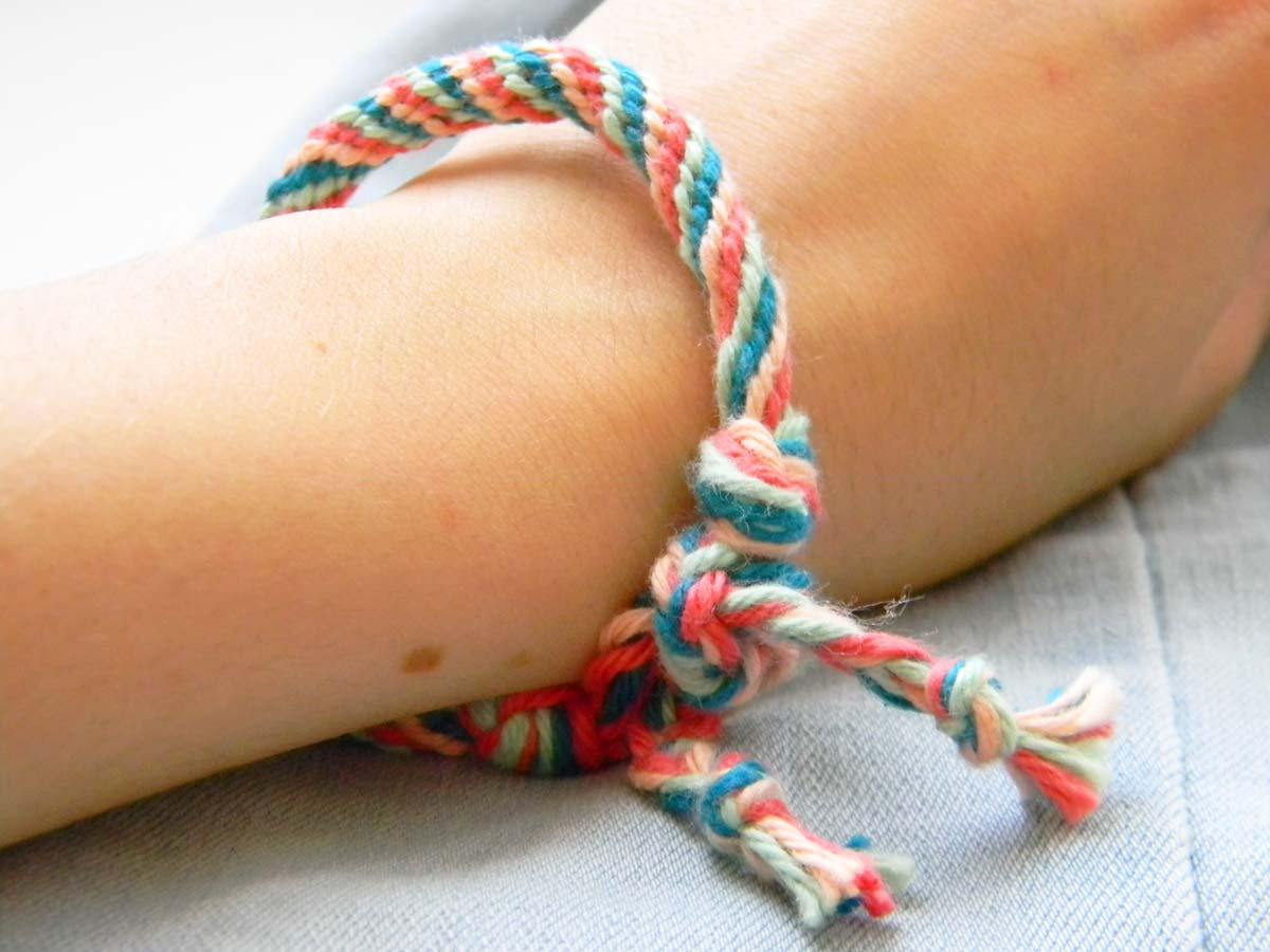 Tuto/DIY bracelet kumihimo simple