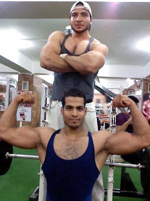 Egyptian Body Builder Karim Mo