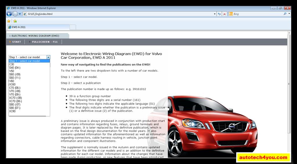 Volvo Cars Wiring Diagrams 2011 ~ الموقع الأول فى الشرق