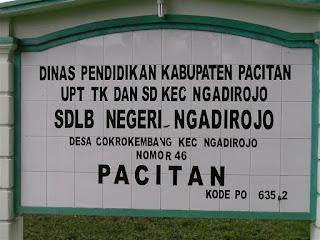 SDLB Negeri Ngadirojo Pacitan