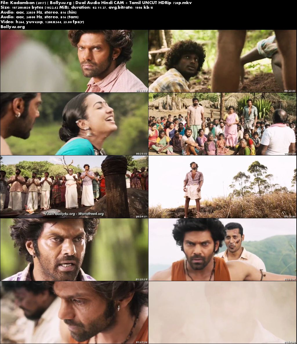 Kadamban 2017 HDRip 400MB UNCUT Hindi Dual Audio 480p Download